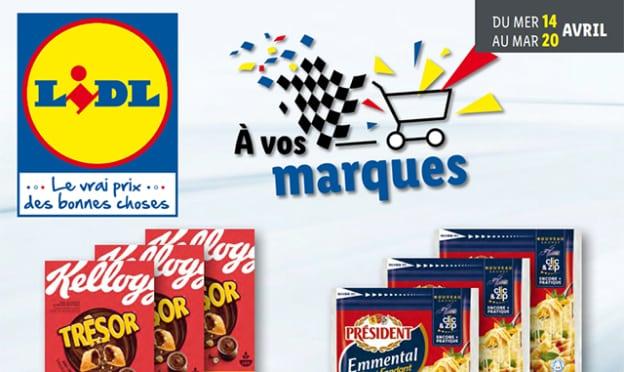 Catalogue Lidl promo marques d'avril 2021