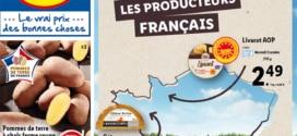 Catalogue Lidl soutient les producteurs du 13 au 19 octobre