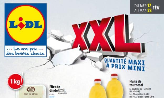 Catalogue Lidl «XXL» du 17 au 23 février 2021
