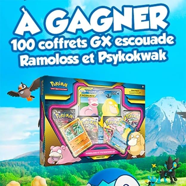 Jeu Maxi Toys : Coffrets Escouade Pokémon à gagner