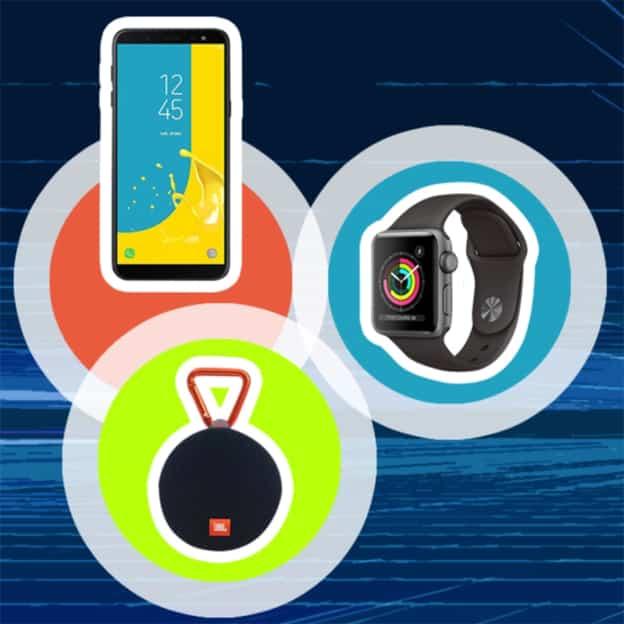 Jeu Ouest-France : Apple Watch, Samsung Black Galaxy J6, JBL CLIP