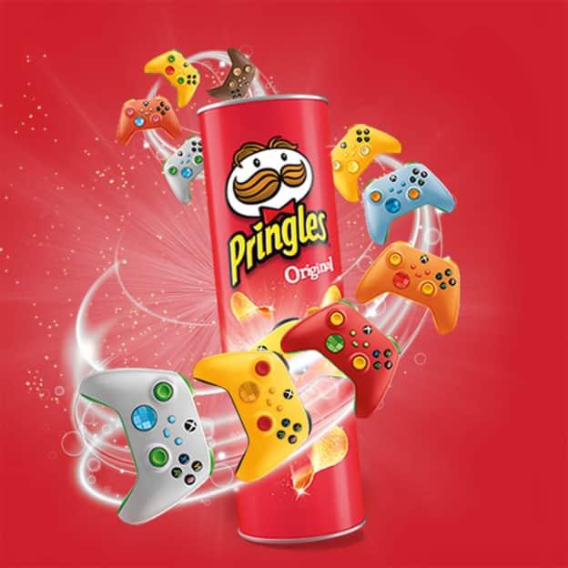Jeu Pop Play Eat Pringles sur gaming.pringles.com