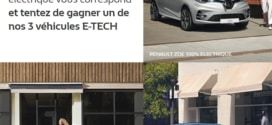Jeu Renault : Voitures E-Tech à gagner