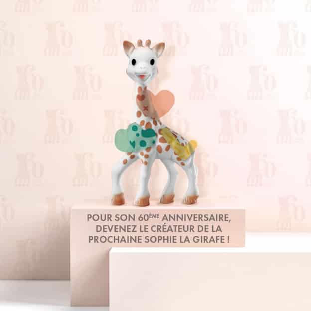 Jeu Sophie La Girafe : 60 coffrets collector à gagner