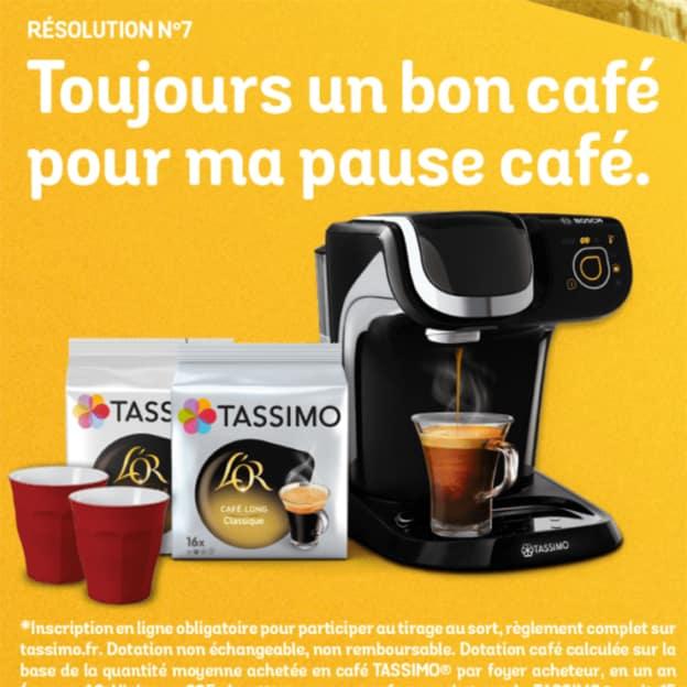 Jeu Les très très bonnes résolutions de Tassimo sur jeu.tassimo.fr