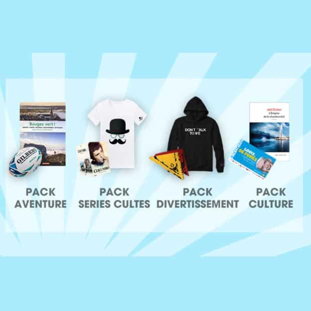 Jeu TF1 et Vous : Packs de cadeaux à gagner
