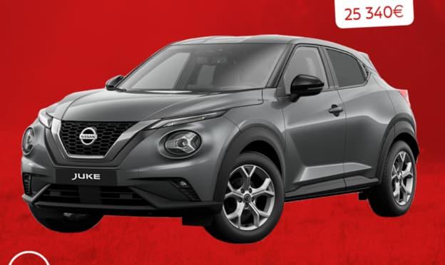 Jeu voiture Nissan Juke gagner