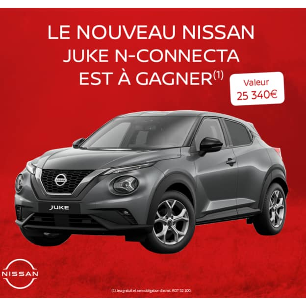 Jeu Blancheporte : Voiture Nissan Juke à remporter