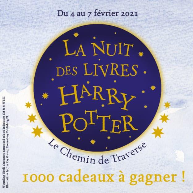 Jeu La Nuit des livres Harry Potter