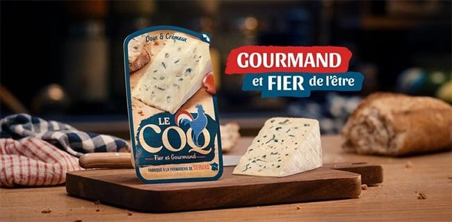 testez gratuitement le fromage Le Coq Fier et Gourmand