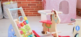 Lidl : Cheval à bascule, draisienne ou chariot en bois pas chers