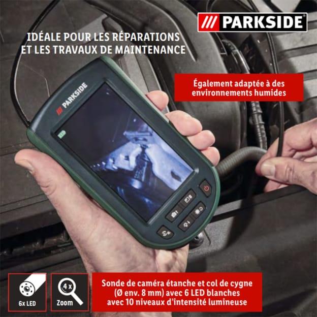 Lidl : Caméra d'inspection Parkside pas cher