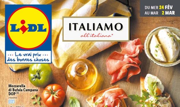 Catalogue Lidl Italiamo du 24 février au 2 mars 2021