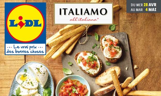 Catalogue Lidl Italiamo du 28 avril au 4 mai 2021