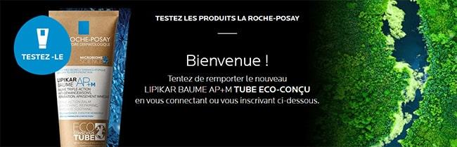 Testez gratuitement un Lipikar baume AP+M Tube éco-conçu La Roche-Posay