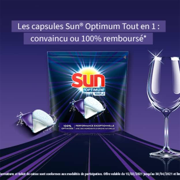 """ODR capsules Sun Optimum """"Convaincu ou 100% remboursé"""""""