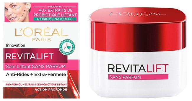 testez le soin Liftant sans Parfum Revitalift de L'Oréal Paris