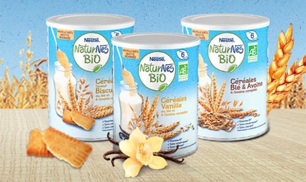 Test Nestlé : Boîtes de Céréales NaturNes Bio gratuites