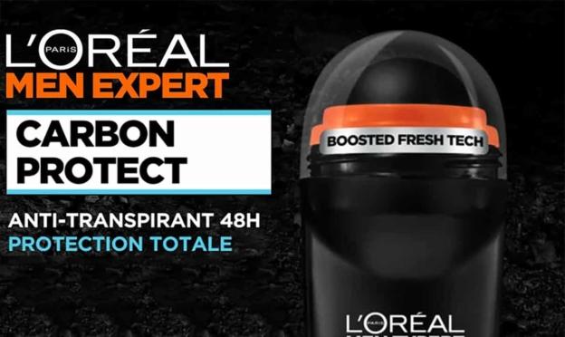 Test L'Oréal Men Expert : déodorants Carbon Protect gratuits