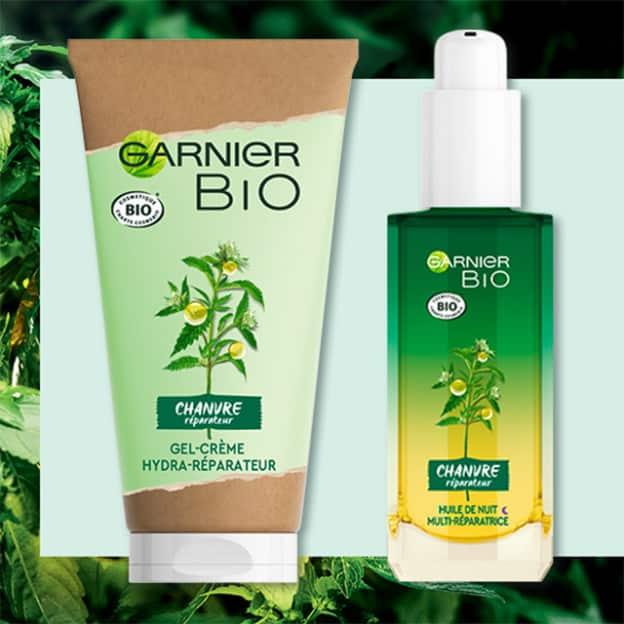 Test Garnier : 175 routines de soins au Chanvre Bio gratuites