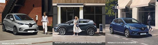 Tentez de gagner une hybride ou une voiture électrique Renault