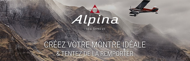 Créez votre montre Alpina idéale et tentez de la gagner