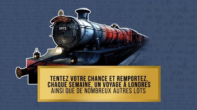 Les cadeaux Harry Potter à gagner avec le jeu de la Monnaie de Paris