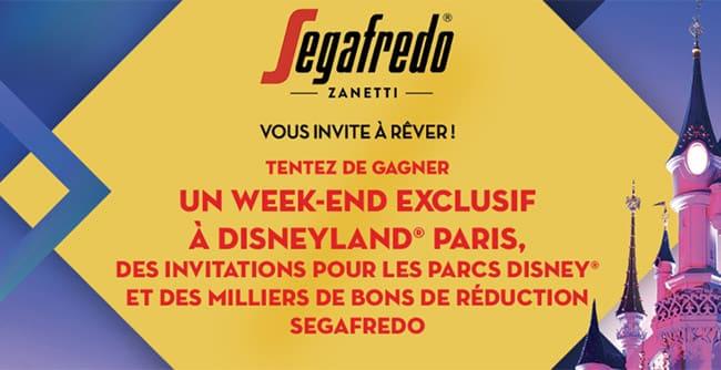 remportez un week-end ou des billets pour les parcs Disney avec Sagafredo