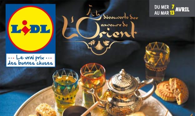 Catalogue Lidl «Saveurs de L'Orient» du 7 au 13 avril 2021