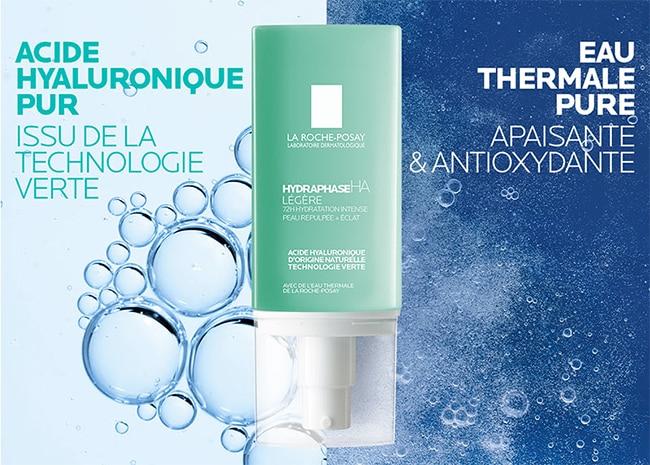 tester gratuitement la crème Hydraphase HA Légère La Roche-Posay