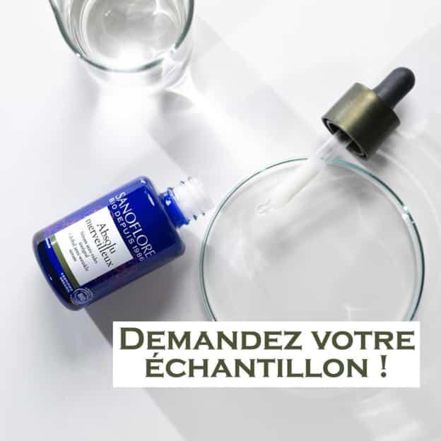 Échantillon gratuit Sanoflore du sérum anti-rides Absolu Merveilleux