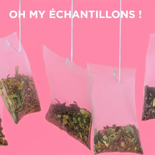 Echantillons gratuits Oh My Tea : Sachets de thés offerts