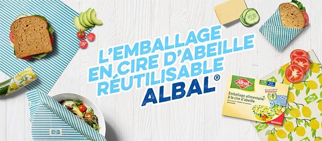 tester gratuitement les emballages alimentaires réutilisables Albal