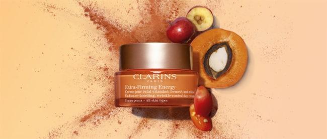 testez le soin Clarins Extra-Firming Energy grâce à une dose d'essai offerte