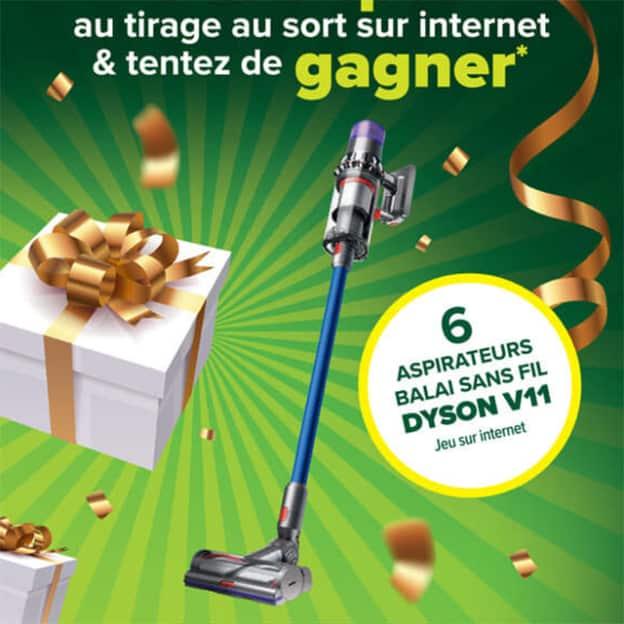 Jeu Carrefour Contact Incroyable Anniversaire : Dyson à gagner
