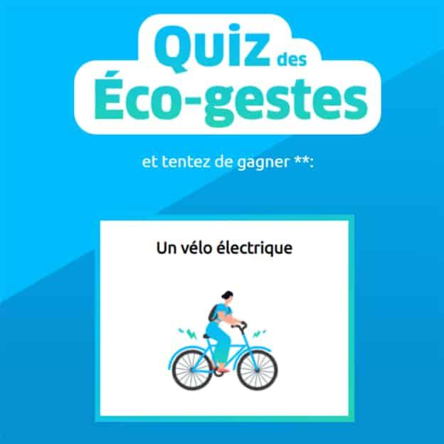 Jeu Engie : Vélos électriques et séjours écolos à gagner