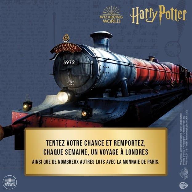 Jeu Monnaie de Paris Harry Potter