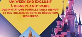 Jeu Segafredo : Séjour et entrées pour Disneyland à gagner