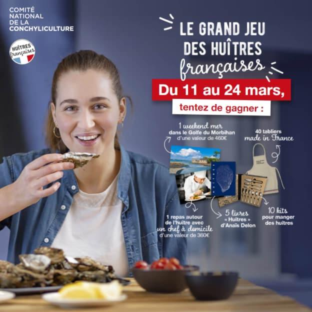 Jeu CNC des huîtres françaises
