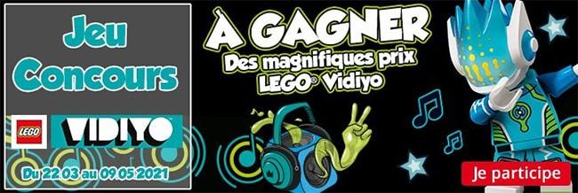 Tentez de gagner des boîtes de LEGO Vidiyo avec Maxi Toys
