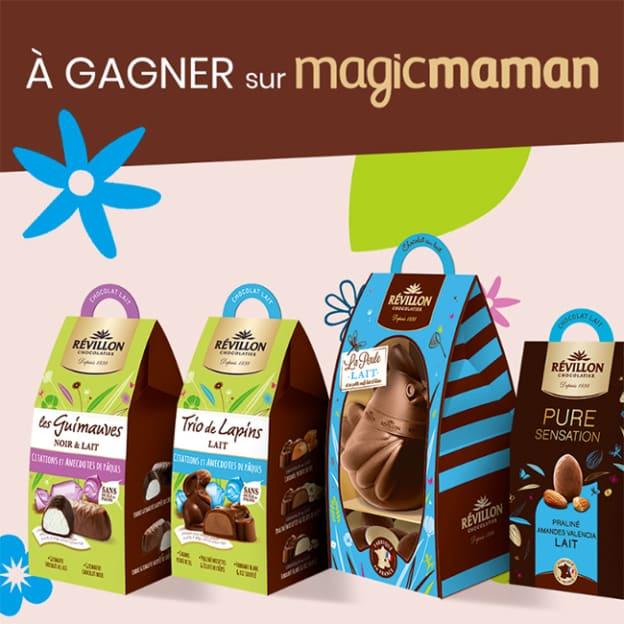 Jeu Magicmaman : Chocolats Révillon de Paques à gagner