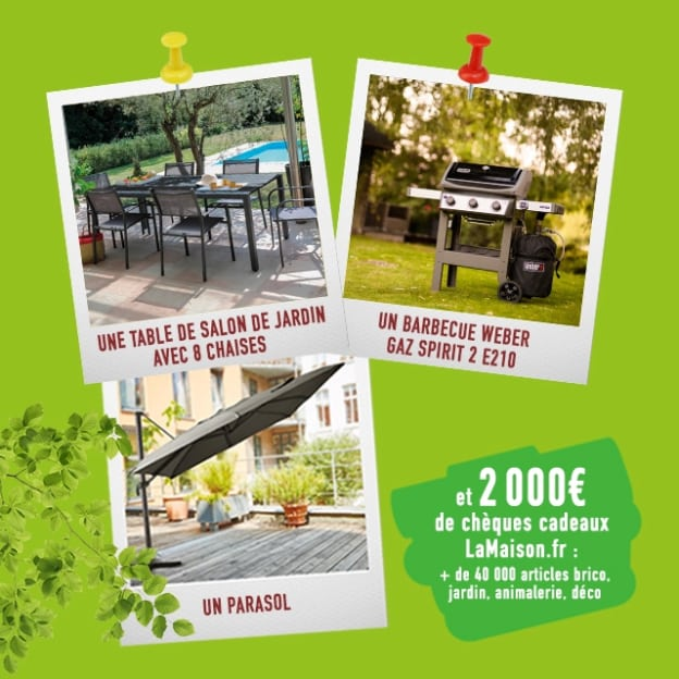Jeu Ouest France : + de 3000€ de lots pour le jardin à gagner