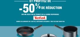 Leclerc recyclage : Reprise poêle / casserole = -50% sur Tefal