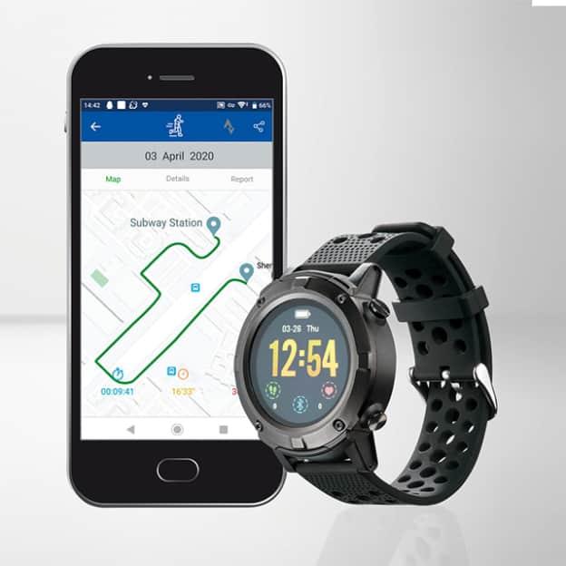 Lidl: Montre fitness connectée avec GPS pas chère à 64,99€