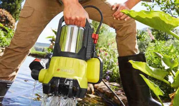 Lidl : Pompe immergée pour eaux chargées pas chère