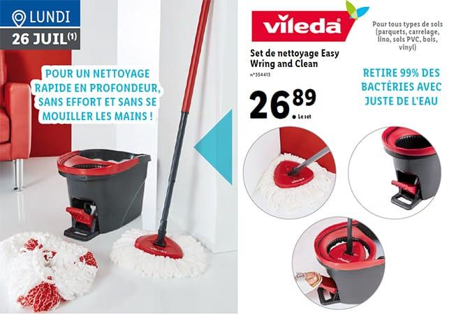 Set de nettoyage Easy Wring and Clean de Vileda à petit prix chez Lidl