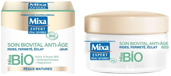 tester gratuitement le soin Biovital de Mixa avec Sampleo