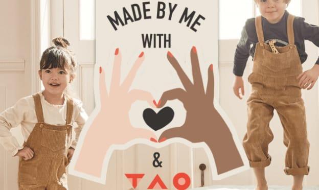 Patron gratuit de la salopette pour enfants par TAO