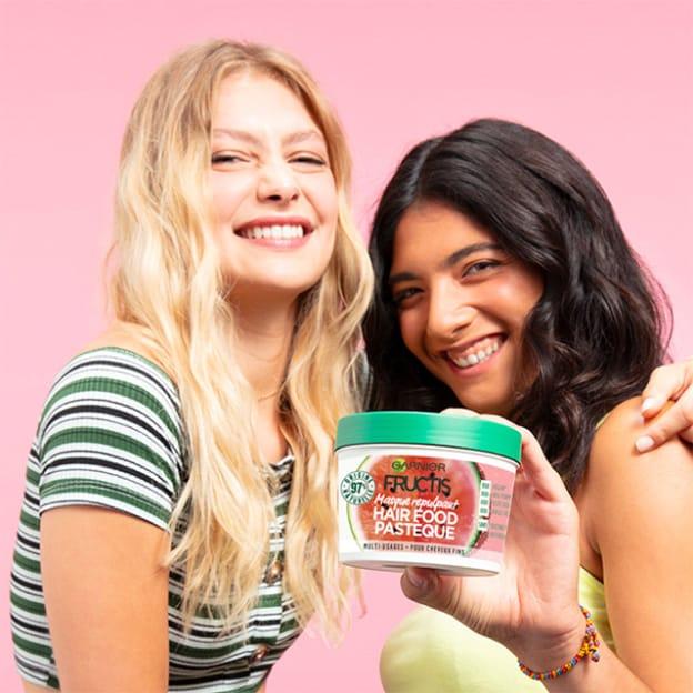 Test Garnier : 2'700 soins Fructis Hair Food Pastèque gratuits