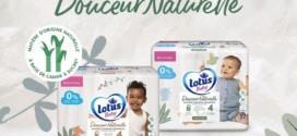 Test couches Lotus Baby Douceur Naturelle : 4000 packs gratuits